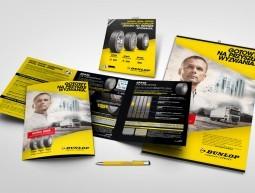 Materiały promocyjne Dunlop
